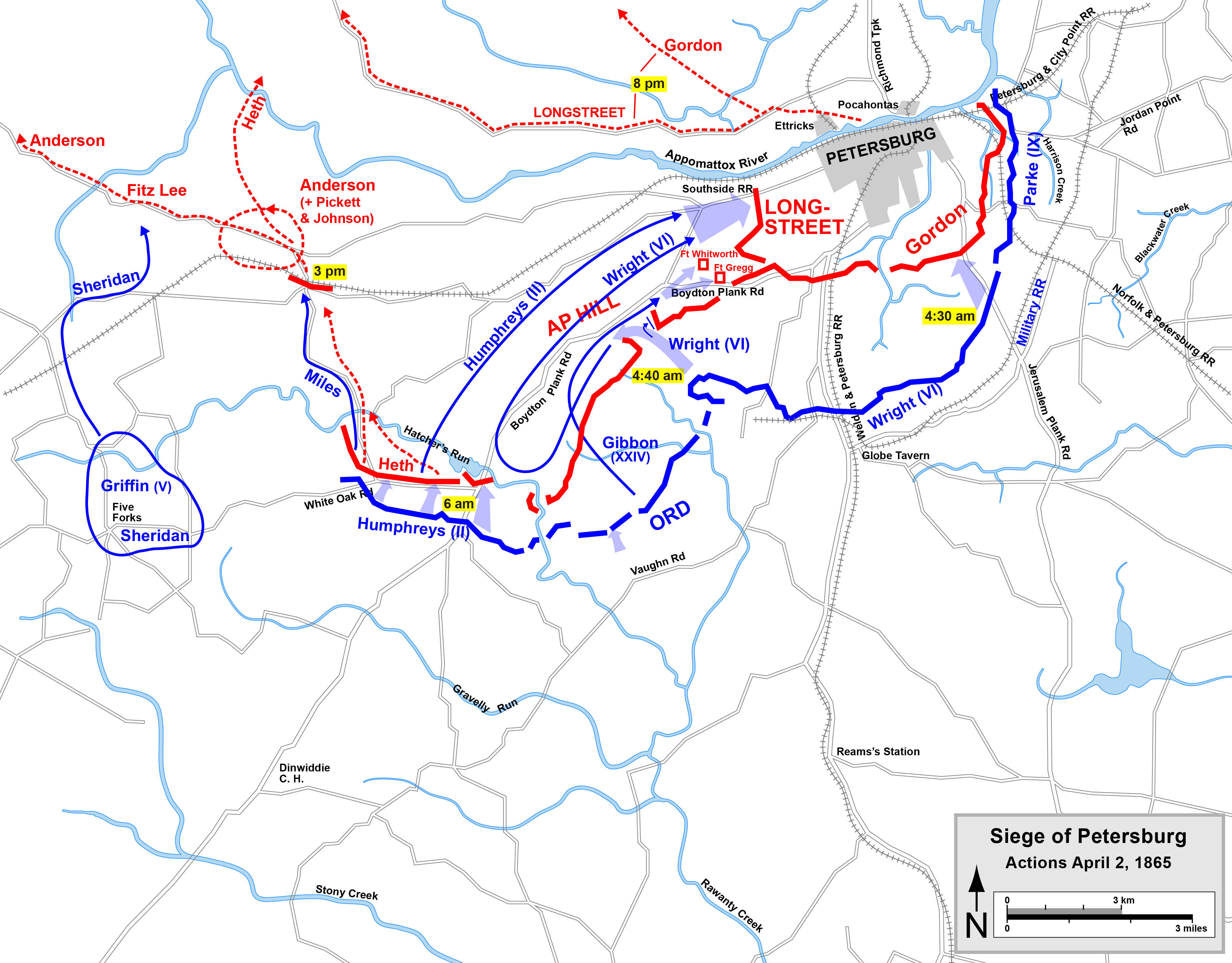 American civil war siege of petersburg