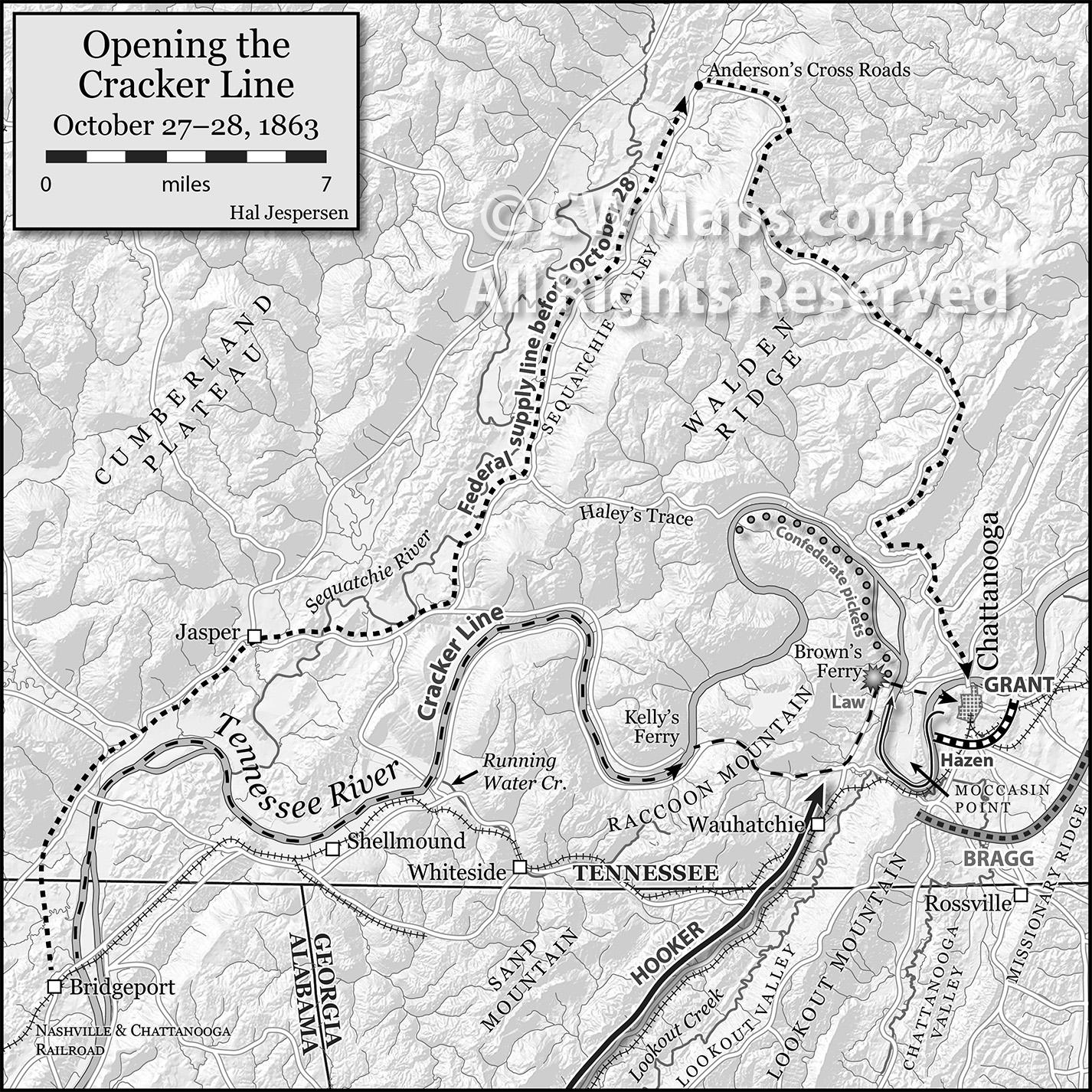 Hal Jespersen S Civil War Cartography Portfolio And Sample Maps